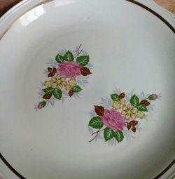 Dish new big. The USSR.