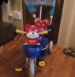 ποδήλατο με γονική λαβή