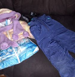 Jacket + semi-overalls