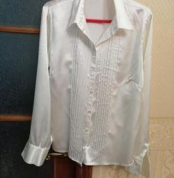 Сорочка атласна клац