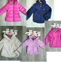 Benetton new jackets and windbreakers