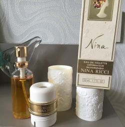 Nina Ricci Eau De Toilette Vintage