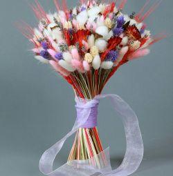 Buket kuru çiçekler Moskova.
