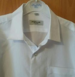 New white shirt