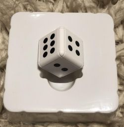 Mini camera in the form of a dice battery