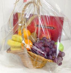 Coș de fructe cadou coș dulce