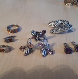 Gümüş takılar
