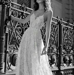 Свадебное платье в стиле бохо Liv Flora Bridal