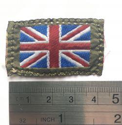 Patch de la uniforma Regatului Unit
