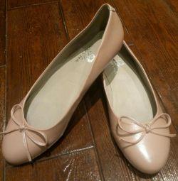 Pantofi de balet r. 40. Nou