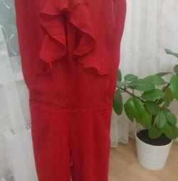 Tulum yaz kırmızı kadın, XS