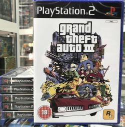 Grand theft auto 3 гра для Playstation 2