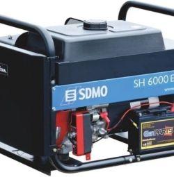 Βενζίνη Ισχύς SDMO SH6000E (Γεννήτρια Αερίου