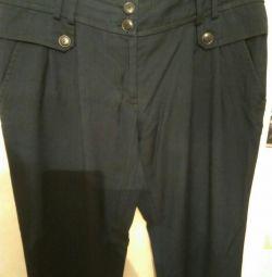 Темно сині штани 48 розмір.