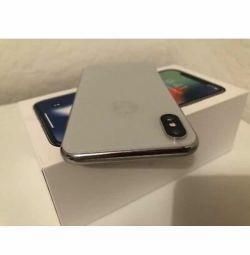 Apple iPhone X - 64 GB - Argint (deblocat) A1901 (G