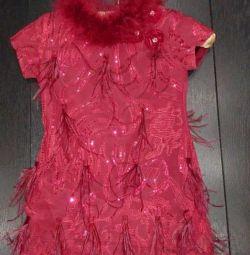 Şık elbise Lesy 4-5 yıl