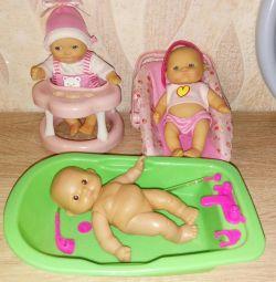 Bebelușii cu accesorii