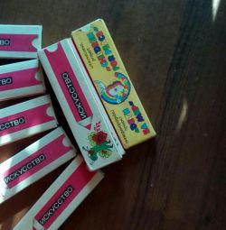 Colored pencils, new