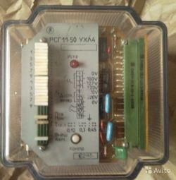 Рeле cтатичecкиe частоты сeрии PСГ-11-50 УXЛ