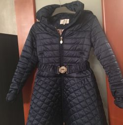 Coats for girls of the company PULKA