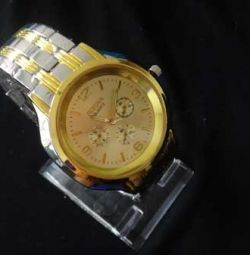 Wrist watch W073, steel