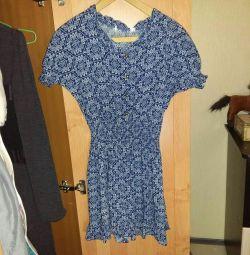 Платье ситцевое. Новое. Р.42
