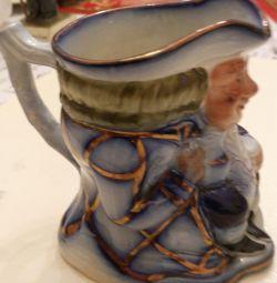 decorative english mug