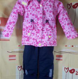 Κοστούμι για το κορίτσι άνοιξη - φθινόπωρο