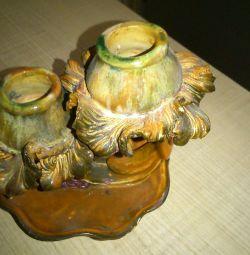 Candlestick ceramics