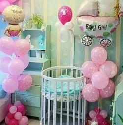 Deşarj için helyum balonları