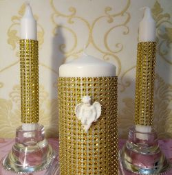 Свадебные аксессуары, свечи г. Ликино-Дулёво