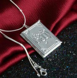 Silver chain pendant new