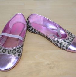 Bale ayakkabıları pembe, 35 numara