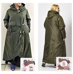 Супер-стильне пальто з сумкою Туреччина 50-52,54-56