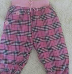 Summer breeches for a girl