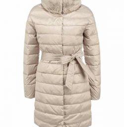 Пуховик пальто zarina