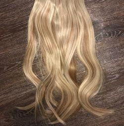 Волосы накладные новые