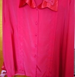 Blouse, jacket, dress, large size