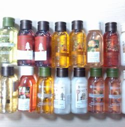 Gels, creams, tonic mini (Yves Rocher)
