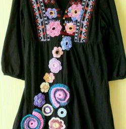 dress, handmade