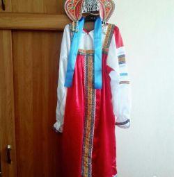 Russian-folk costume