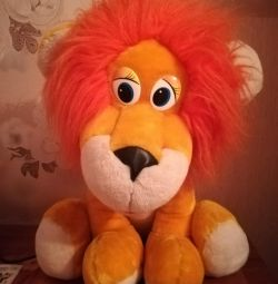 Lion big soft toy