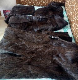 Fur of nutria. For restoration of fur coats. Bargaining.