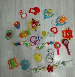 Educational Toys, Rattles, Rodents