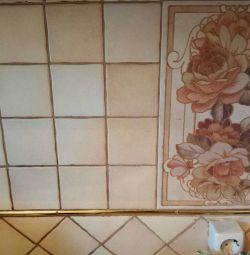Ceramic tile for kitchen
