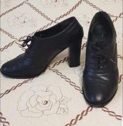 Ανδρικές μπότες, φυσικό δέρμα