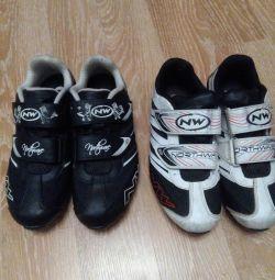 παπούτσια ποδηλάτων 37