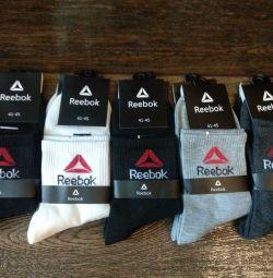 Reebok Men's Socks Long