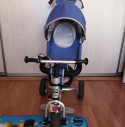 Scaun cu rotile pentru biciclete