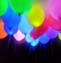 Μπαλόνια γάμου με LED